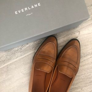 Everlane The Modern Penny Loafer in Cognac | 6.5
